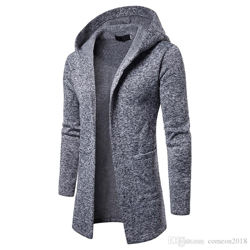 mens trench coats designer hoodie coat jackets mens designer winter trench coat mens clothes plus size clothing men solid color overcoats