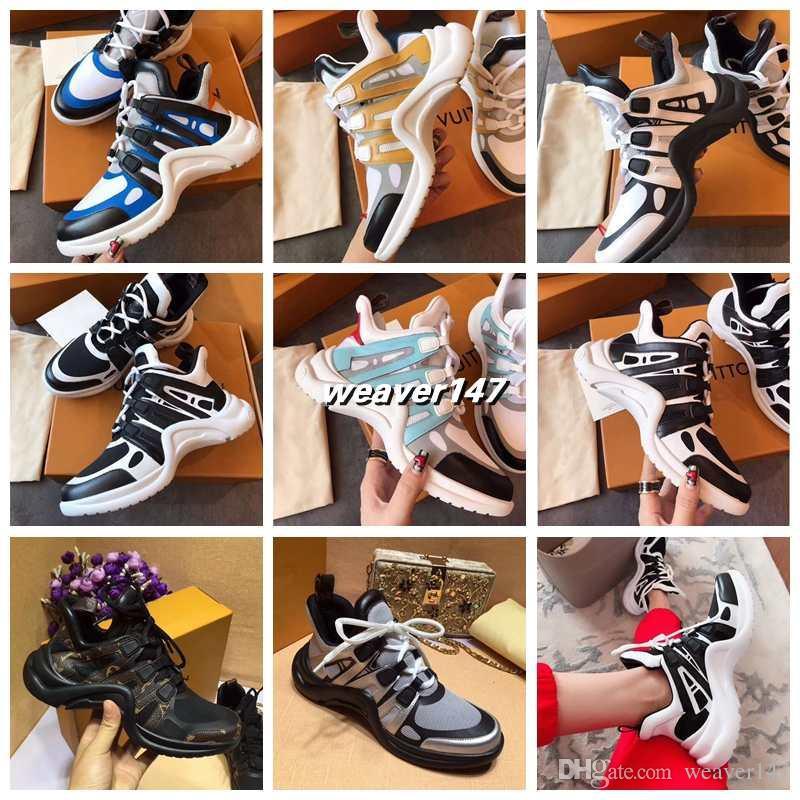 b36e592ec01 2018 NEW Luxury Women s Archlight Sneaker Men Genuine Leather ...