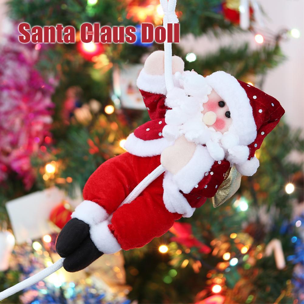 Großhandel 1 Stücke 30 Cm Weihnachten Weihnachtsmann Puppe Geschenke ...