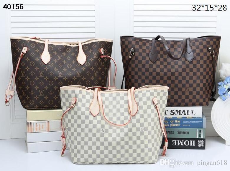83bdd8895 2018 Casual Handbags Fashion Women Tote Shoulder Bags High Quality Leather  PU Famous Brand Plaid Hand Bag Hobo Cheap Purses Kathy Van Zeeland From  Pingan618 ...