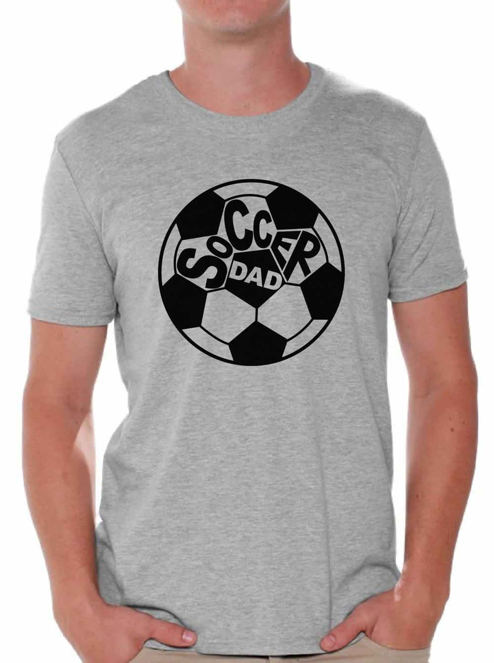 c2577e6b Soccer Dad T Shirt Tops Father's Day Gift Idea Best Soccer Player ...