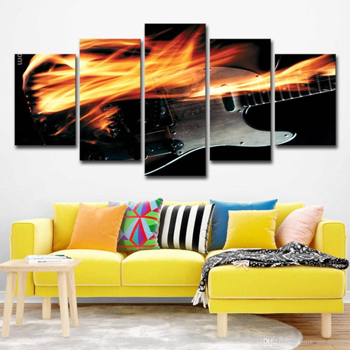 2019 Mordern Canvas Painting Wall Art Pictures Home Decor Electric