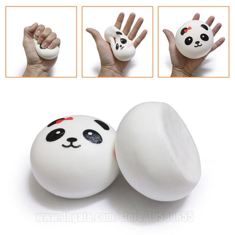Simplicity Style Squishy Panda Squishies Bun 10cm