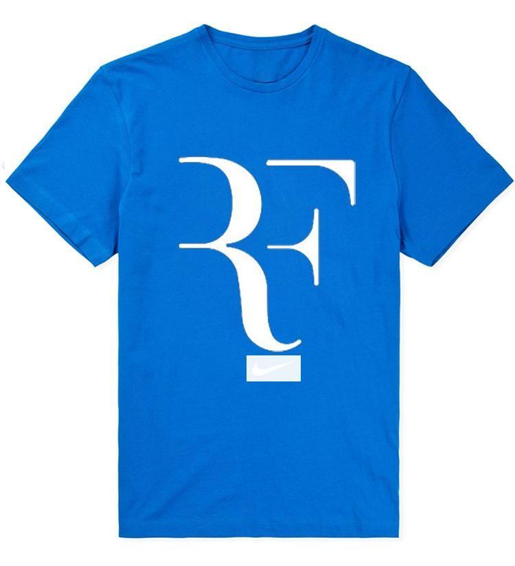 bc515314ea71 Roger Federer Tennis RF Printed Men T Shirt 2018 New Summer Perfect ...