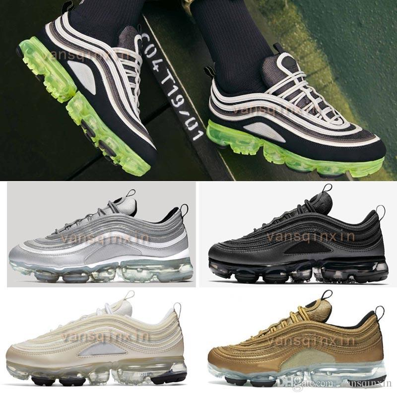 2018 97 vapormax Hybrid Casual Shoes men women Bullet Japan OG Gold Black Reflect Silver Vapormaxes Casual shoes online cheap price low price fee shipping sale online tiEuiKfsn