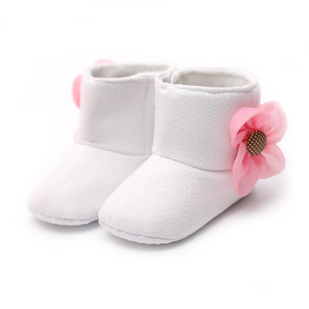Cute Tassel Girls Baby Snow Boots Thickening Warm Baby Moccasins First Walkers Winter Shoes Soft Sole Sapatinhos Bebe Booties Baby Shoes