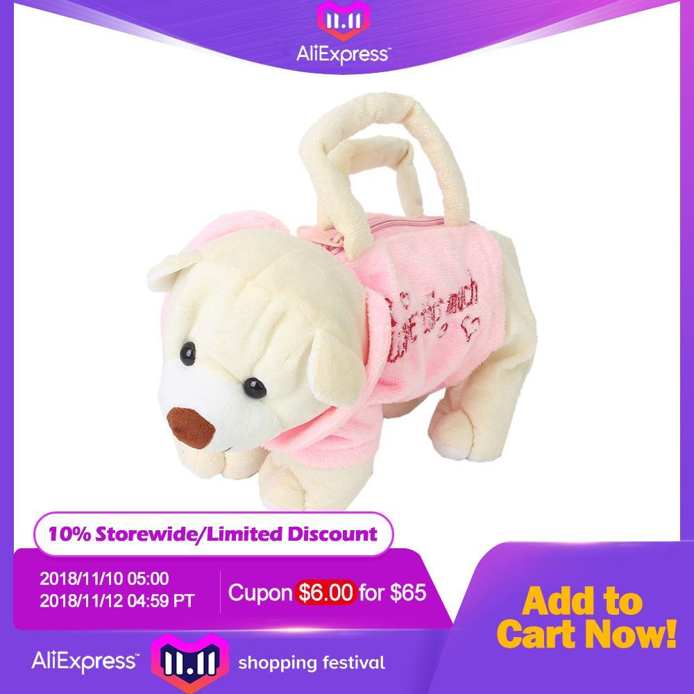 2019 Fashion Cute Stuffed Animal Bag Puppy Shape Children Handbags Girls  Handbag Gift For Children Kids Bags Luxury Bags Black Handbags From Bags1 b4ce846430