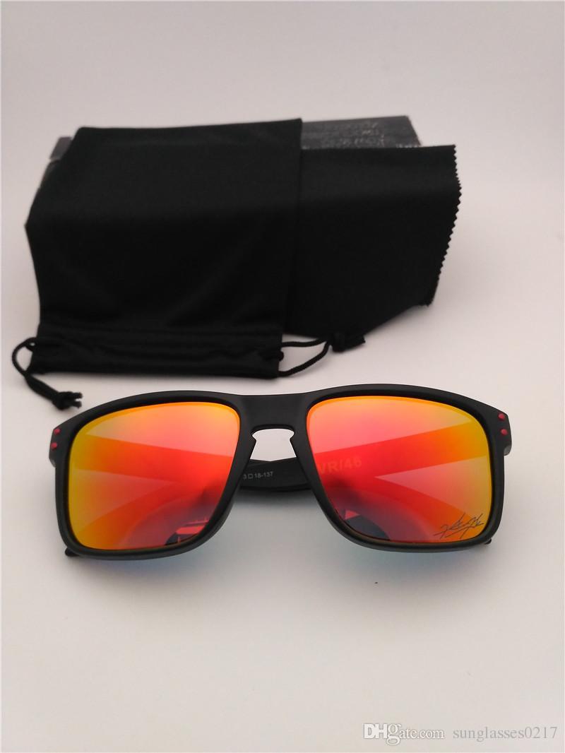 c76240e089 Compre Diseño De Marca Gafas De Sol Polarizadas Para Hombres Y Mujeres  Nuevo Top De Lujo Sunglass TR90 Frame Uv400 Lens Deportes Riding SunGlasses  CON CAJA ...