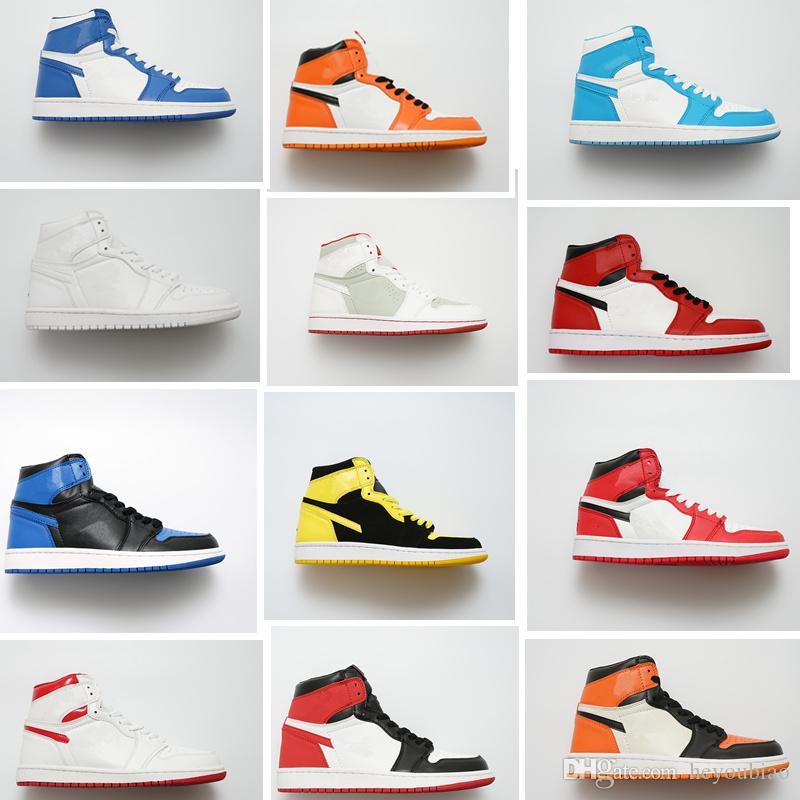 Re HI 1s OG SL Satin Shattered Backboard Mens Basketball Shoes Black Game  Royal Women Bred Toe New Love Sneakers UNC Trainers Men Sneakers Sneakers  Men From ... 27935dee44