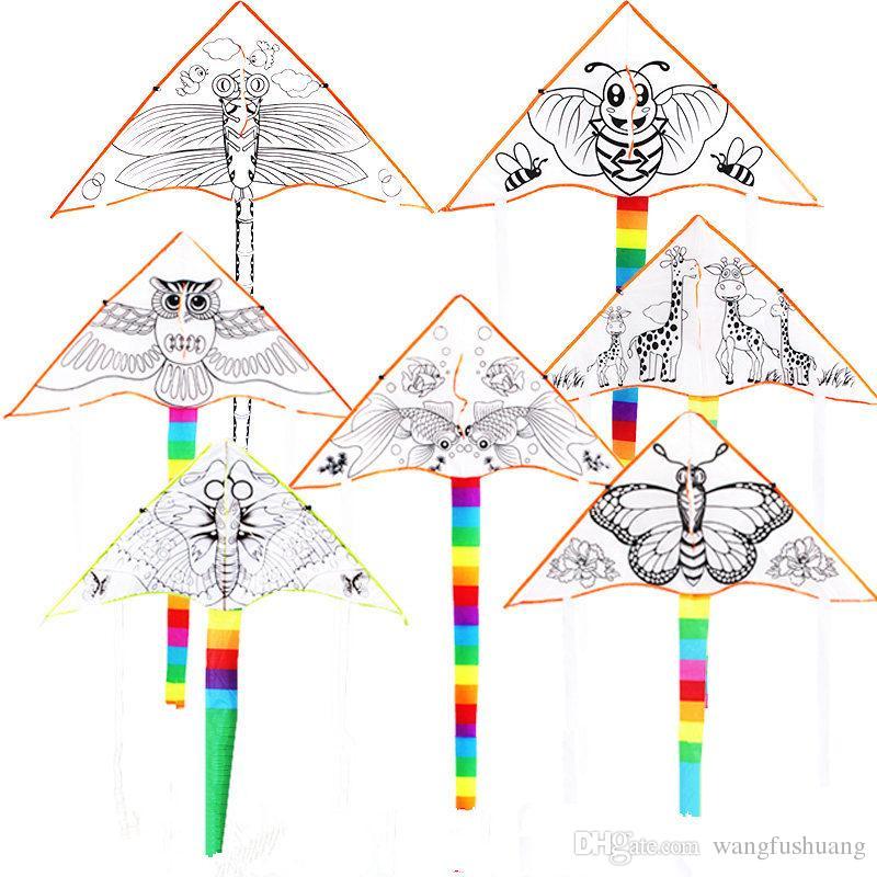 2019 Outdoor Fun Sports Diy Kite Children Kite Education Kite