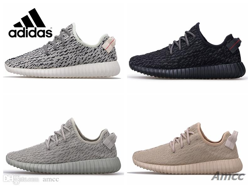 Adidas Yeezy 350 Boost 350 V1 Turtle Dove Pirate Black Moonrock Oxfod Tan  Kanye West Men Women Running Shoes Sport Sneakers With Box Running Shoes  Men ...