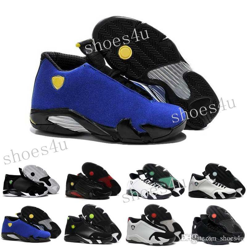 b534370c4c4b Classical 14 XIV Basketball Shoes Men Fusion Purple Last Shot Black Fusion  Varsity Red 14s XIV Playoffs Sneakers Eur Size 41 47 Sneakers On Sale East  Bay ...