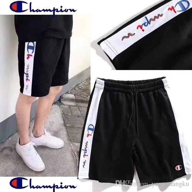 9c5a1838a25 Home> Apparel> Men's Clothing> Men's Swimwear> Product detail 2018 New  season White Blue stripe Basketball Shorts Men's Shorts New Breatha