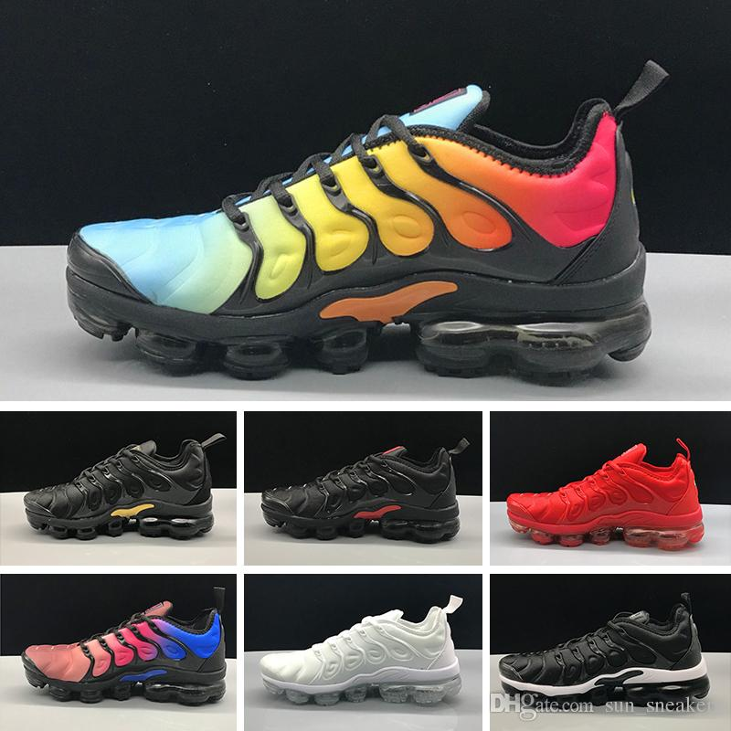 1a0ac5d240f 2018 New TN Plus Silver Traderjoes Running Shoes Colorways Male Pack ...