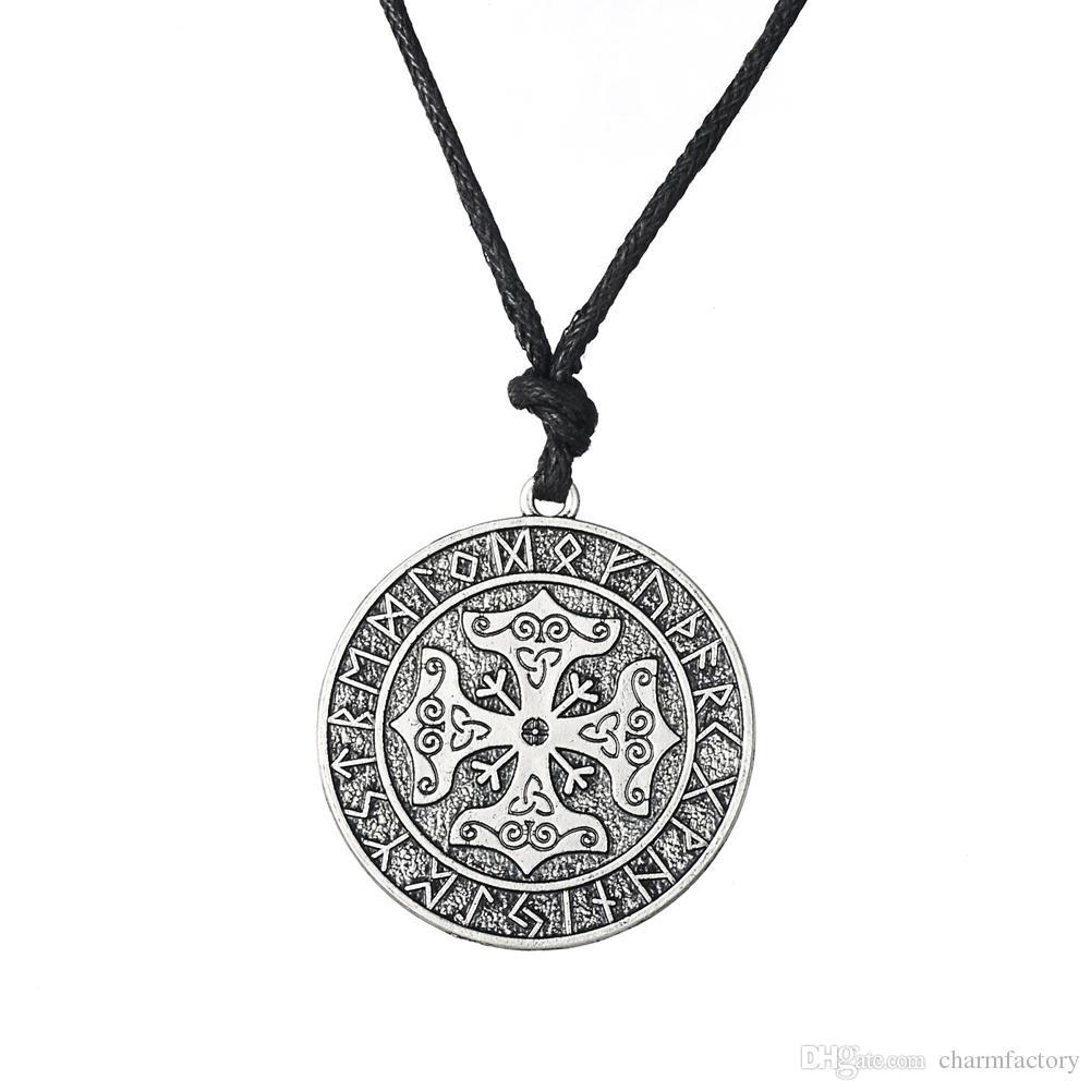 Wholesale Fishhook Valknut Odins Symbol Of Norse Cross Runes