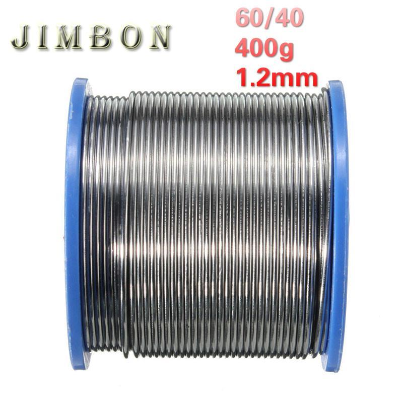 Welding Wires | Jimbon 400g 1 2mm Welding Wire 60 40 Rosin Core Solder 2 0 Percent