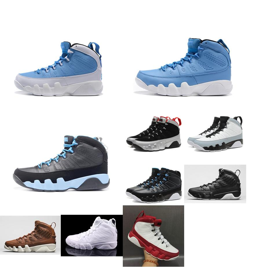 watch 03b2c 8918d Men retro 9s basketball shoes j9 Pinnacle Brown Black White Red UNC Blue  leather Silver aj9 Jumpman IX 9 sneakers tennis with box for sale