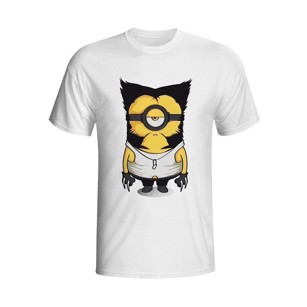 da6d847ecfcf MASCUBE Logan Minion Funny Design Casual Style Men S T Shirt Summer 2018  New Fashion Anime T Shirts Male Brand Cartoon Tee Tops Vintage T Shirt Cute  T ...