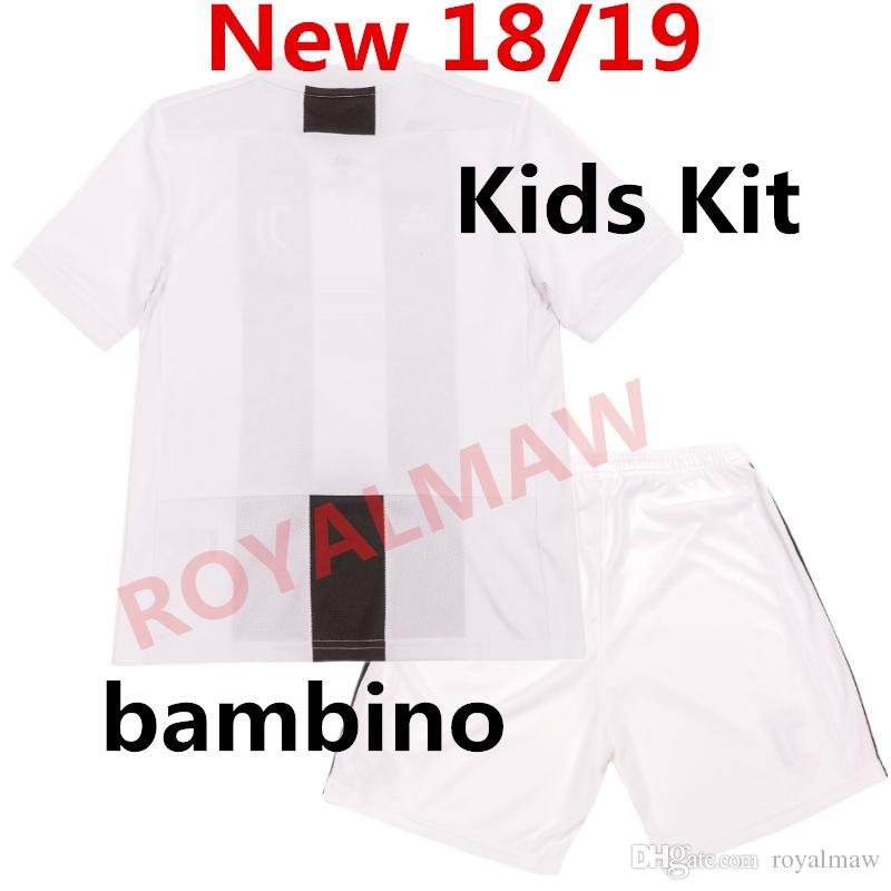 2b433f22b 18 19 DYBALA Kids Kit Soccer Jersey MANDZUKIC Home Football Uniform MATUIDI  2019 Youth Children Clothes HIGUAIN Bambino Maglia CUADRADO Boys I Bambini  ...