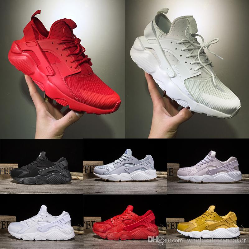 Huarache 1.0 4.0 Running Shoes Triple White Black All Red Black White For  Men Women Sneakers Size US 5.5 11 Best Running Shoe Neutral Running Shoes  From ... f8da4f94880d