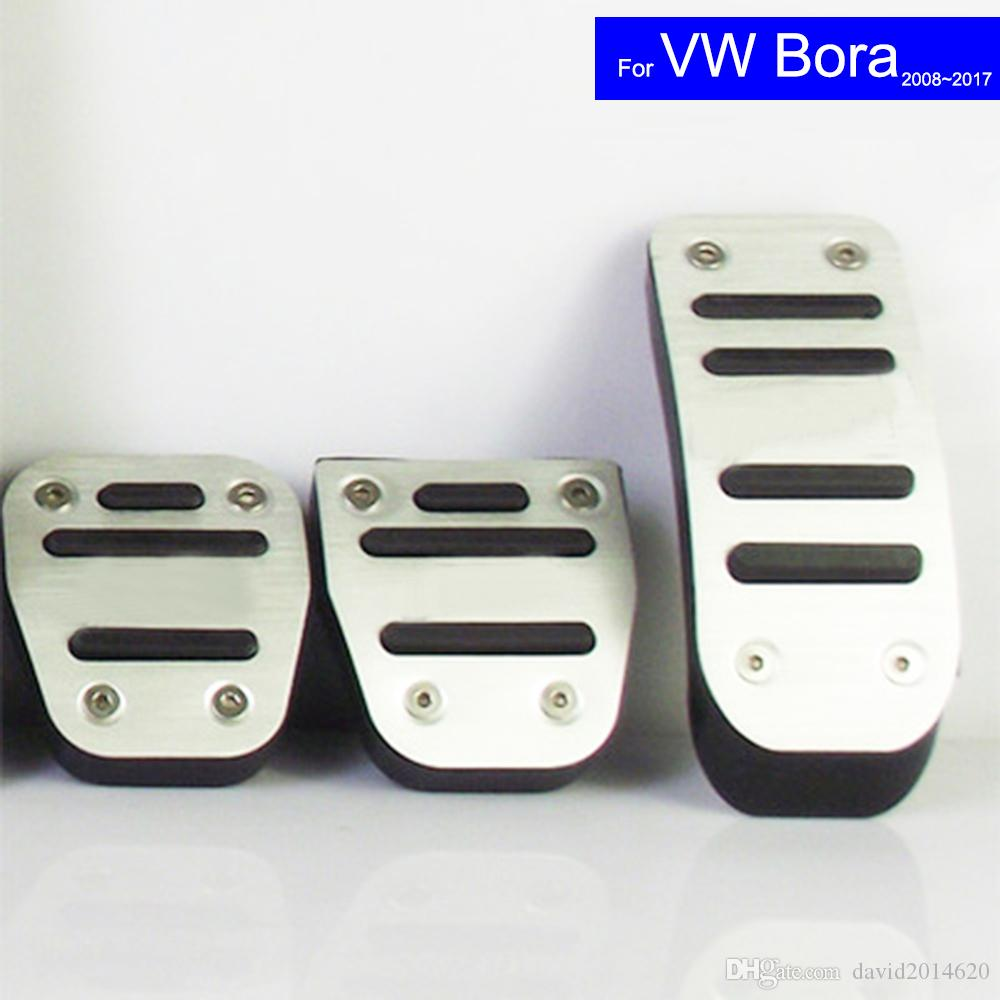2019 Car Petrol Clutch Fuel Brake Pad Foot Pedals Rest Plate For Vw