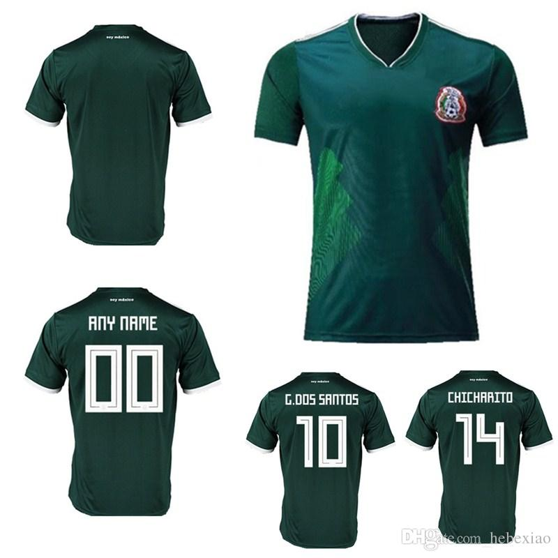 7f9d211b3 2019 Sportswear Soccer Mexico Breathable Short Sleeve Shirt Soccer Jerseys  Uniforms 2018 World Cup Special Football Jerseys Customized Any Name From  ...