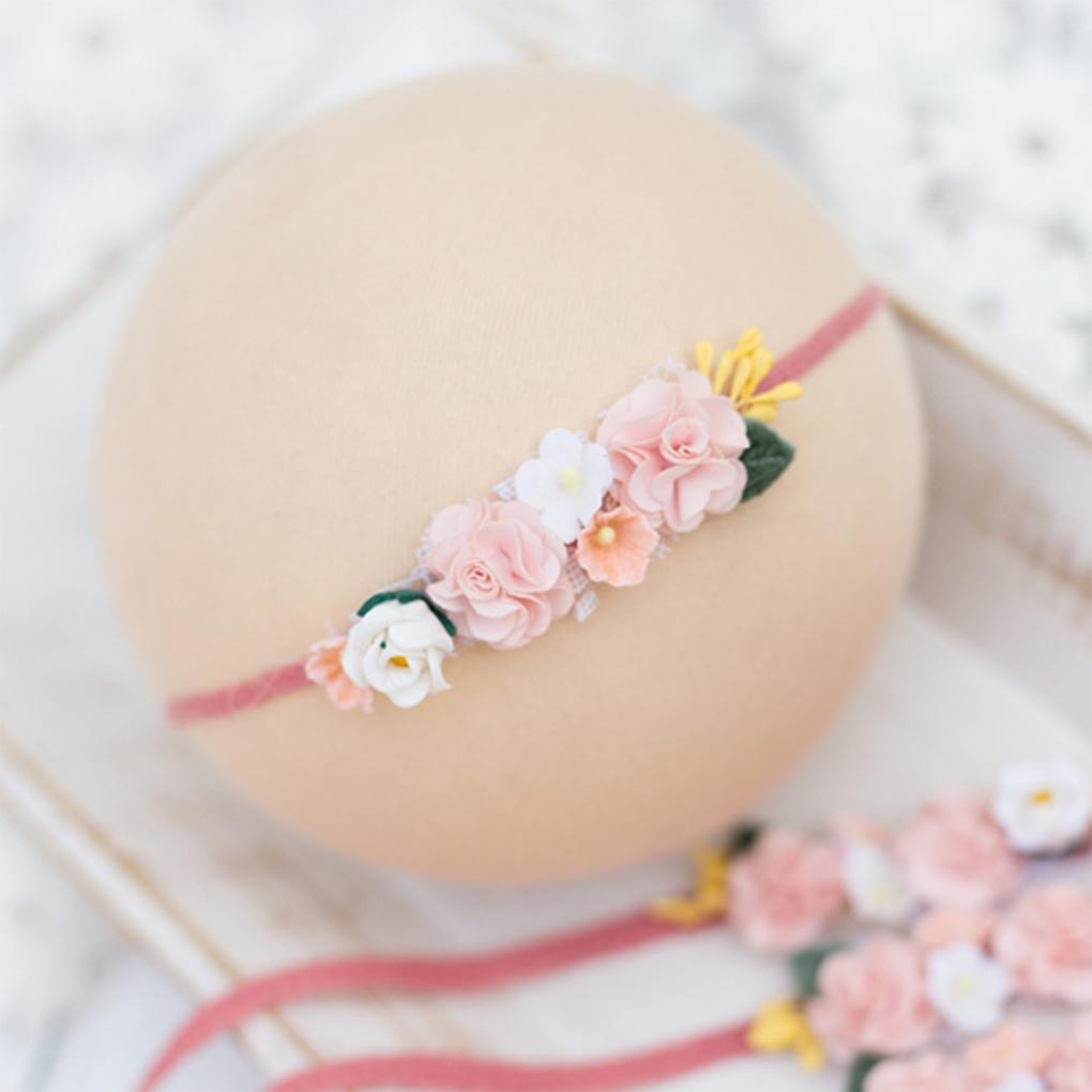 597da2a4deae Rose Ribbon Hair Bands Handmade DIY Headwear Photo Prop 3D Flower Hairband  Kids Child Newborn Baby Girl Headband Satin Accessory Hair Accessories For  ...