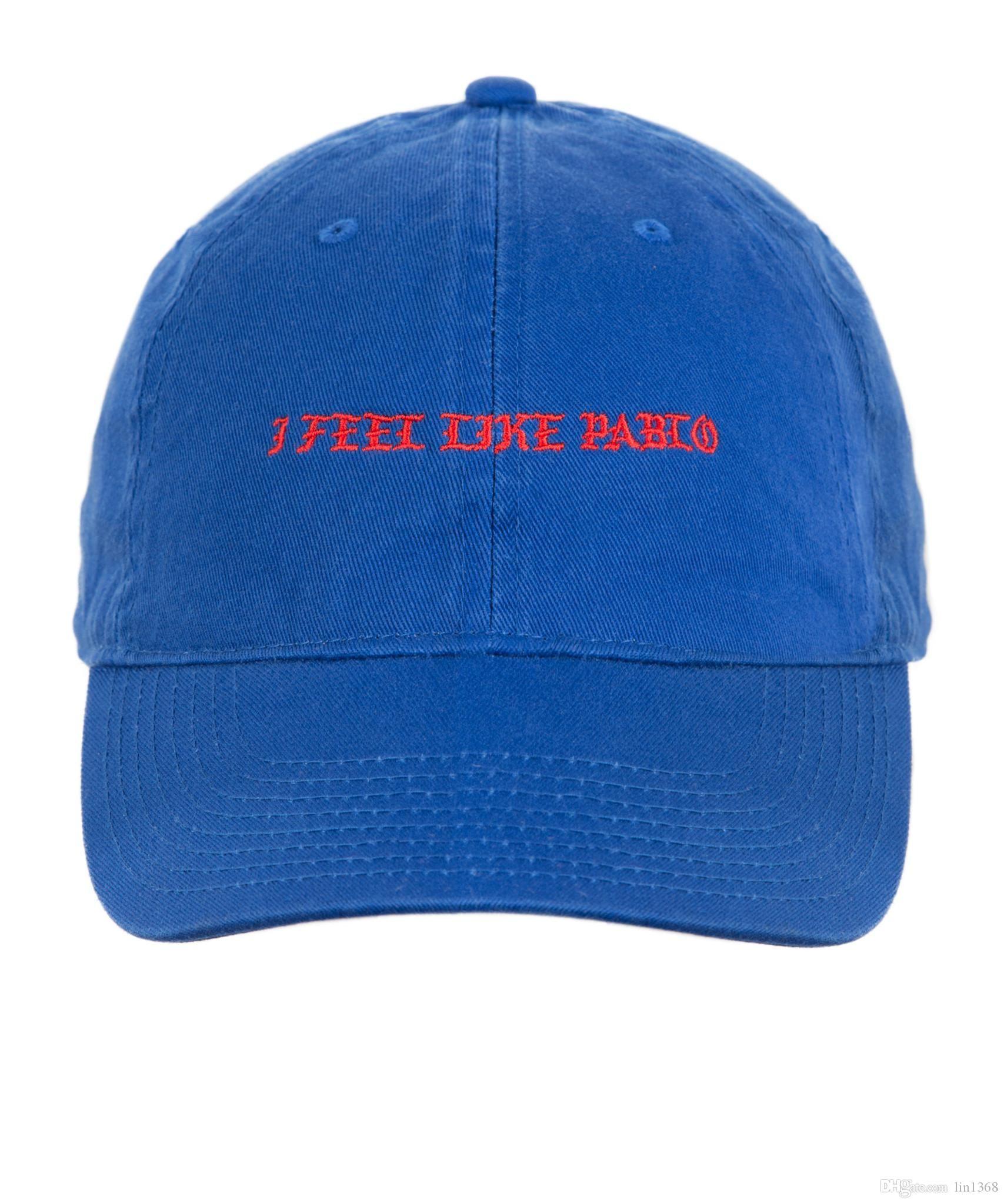 2b175046510 The Life Of Pablo Hat Cap Kanye I Feel Like Pablo Dash TLOP Bear Dad  Snapback Caps 350 750 Flat Bill Hats Baseball Hat From Godhat