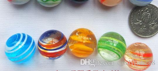 Ev bahçe Çocuk renk cam topu el yapımı cam mermi çocuk hediye cam topu 20mm renk topu balık tankı dekorasyon