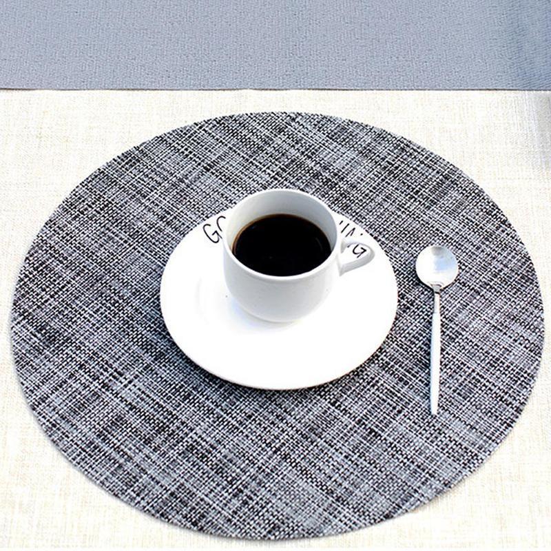 Esszimmer Wärmedämmung Geschirr Schüssel Matte Tischset Pad Muster
