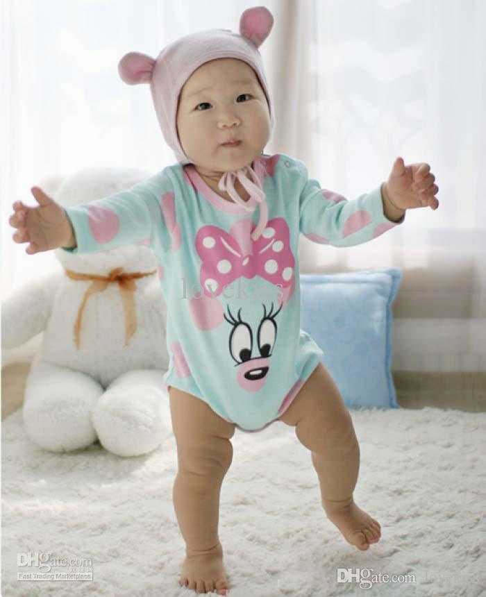 56fcb53b7713 2019 Boy And Girl Cute Cartoon Rompers Baby One Piece Romper Infant ...
