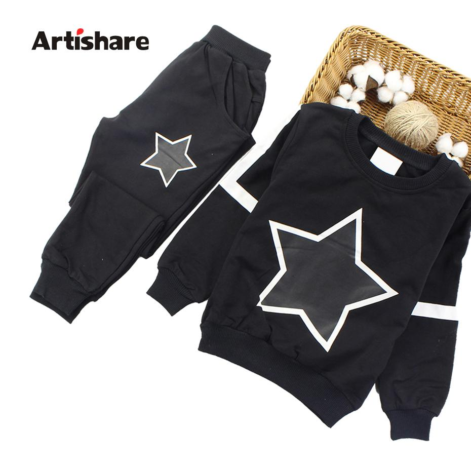2b0fbf804 2019 Artishare Girls Clothes Autumn Winter Sport Outfits For Boys Star  Printed Teenage Kids Girls Clothes 8 10 12 14 Age From Mobiletoys, $23.35 |  DHgate.