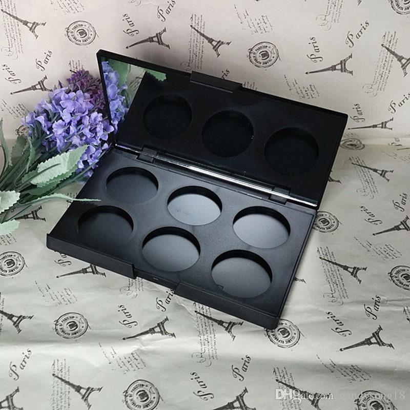 6 boîte de toner boîte en plastique distribution plaque de pression rouge à lèvres ombre à paupières 36.4mm diamètre outils de maquillage accessoires F345
