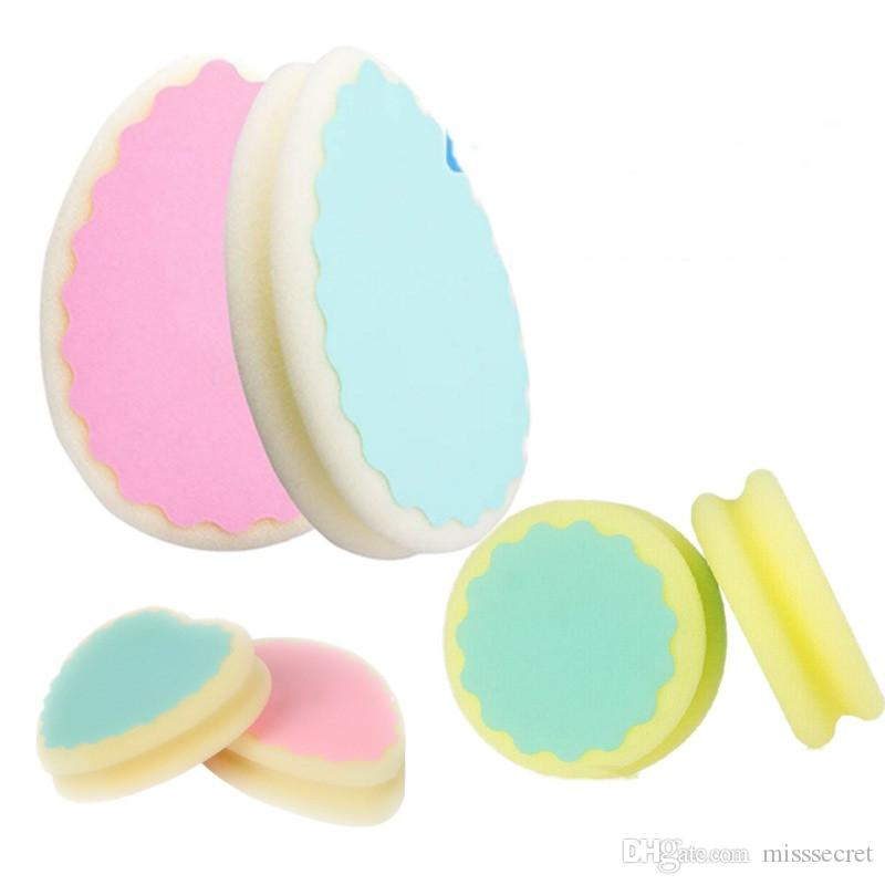 1pc Soft Magic Painless Bath Shower Body Scrub Sponge Pad Women Ladies Facial Leg Arm Body Hair Removal Tool Beauty & Health Bath & Shower