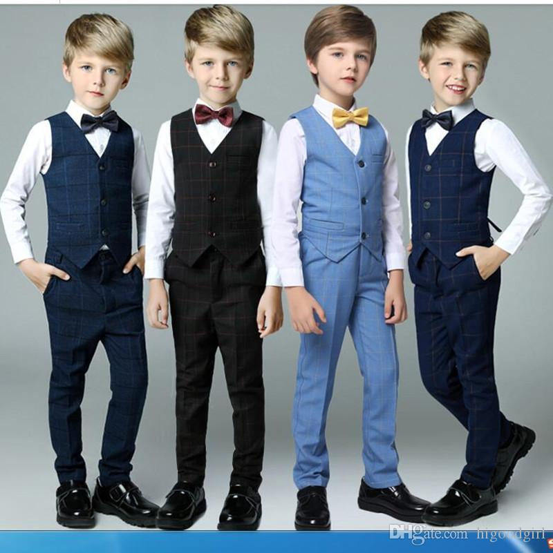 d1661947c 2018 New Arrival Royal Blue Boy S Formal Suits European And American ...