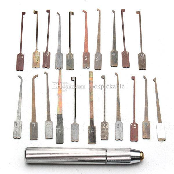 GOSO Interchangeable Lock Pick Set - أدوات GOSO المؤهلة للأقفال