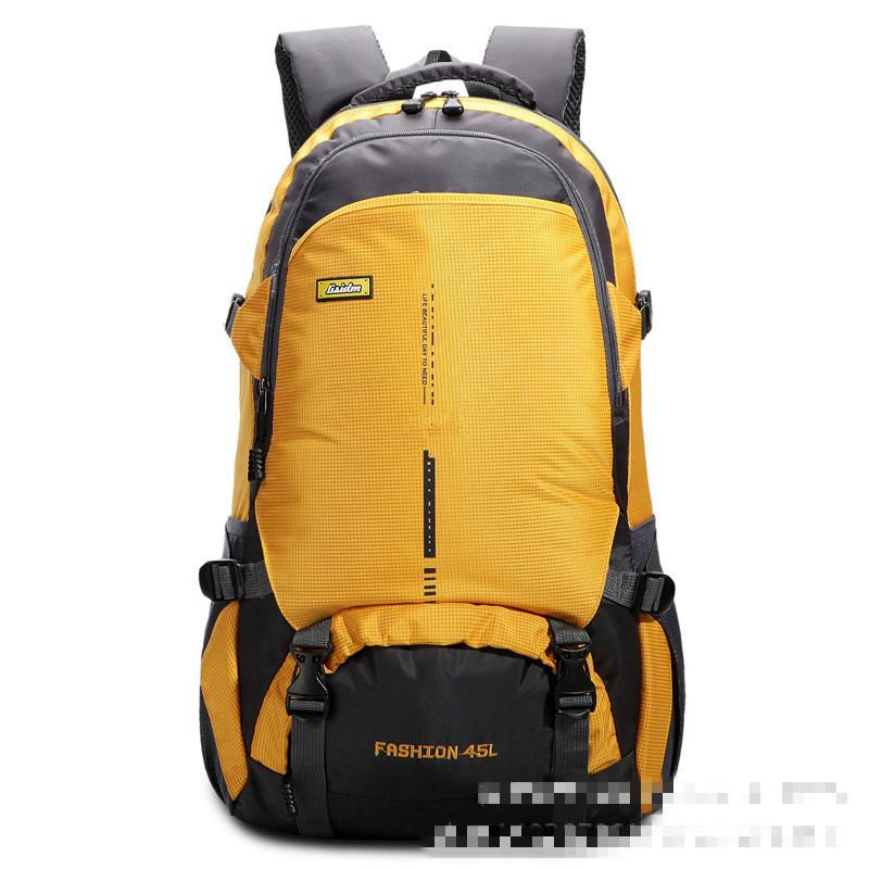 9c30e9f2dbd5 2019 45L Waterproof Durable Travel Hiking Backpack Daypack Climbing Hiking  Mountaineering Backpack Sport Outdoor Bike Bag From Aanyfeige