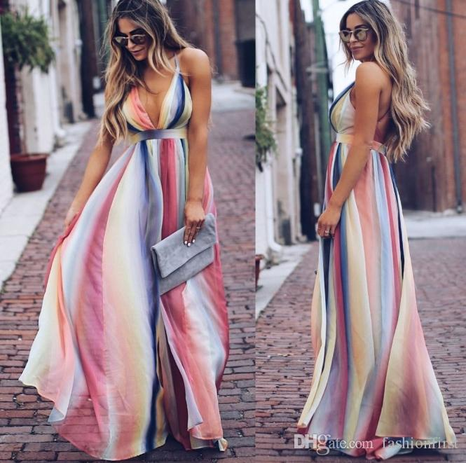 b56e421eaf02e Bohemian vestido boho maxi dress, vestido de verão das mulheres, resort  boêmio coleção vestido longo, roupas festival vestido de praia, vestido ...