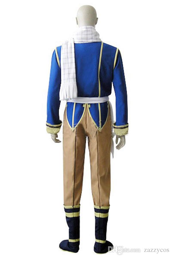 Anime Fairy Tail Natsu Dragneel Cosplay Costume
