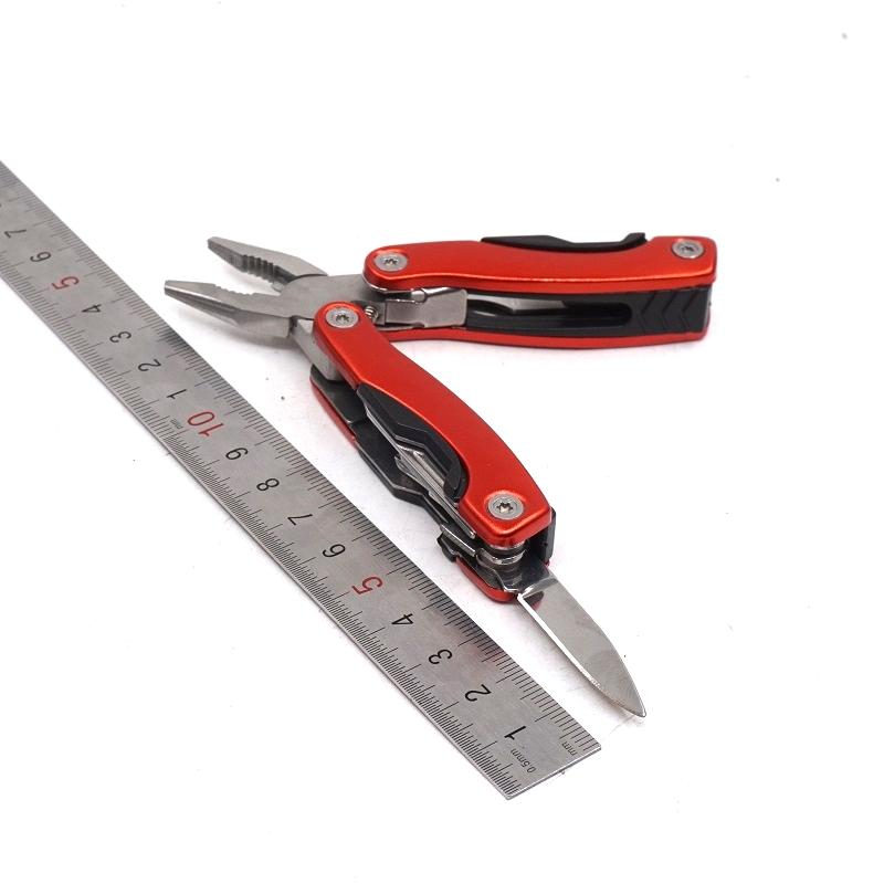 Kleine Größe Taktische Stahl Zangen mehrzweck Kombinierte Messer EDC Im Freienwerkzeuge Tragbare Multifunktions Faltende Zange Freies Verschiffen