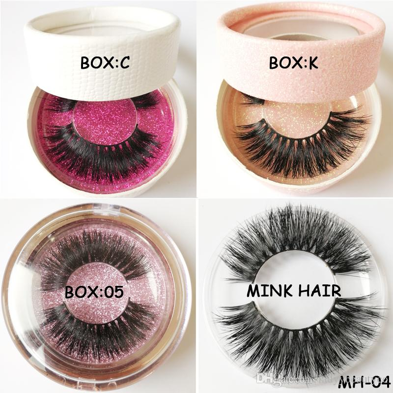 private logo mink hair eyelashes fake eyelashes sexy eyelash lady gaga eyelashes glitter paper round eyelash boxes add label for wholesale
