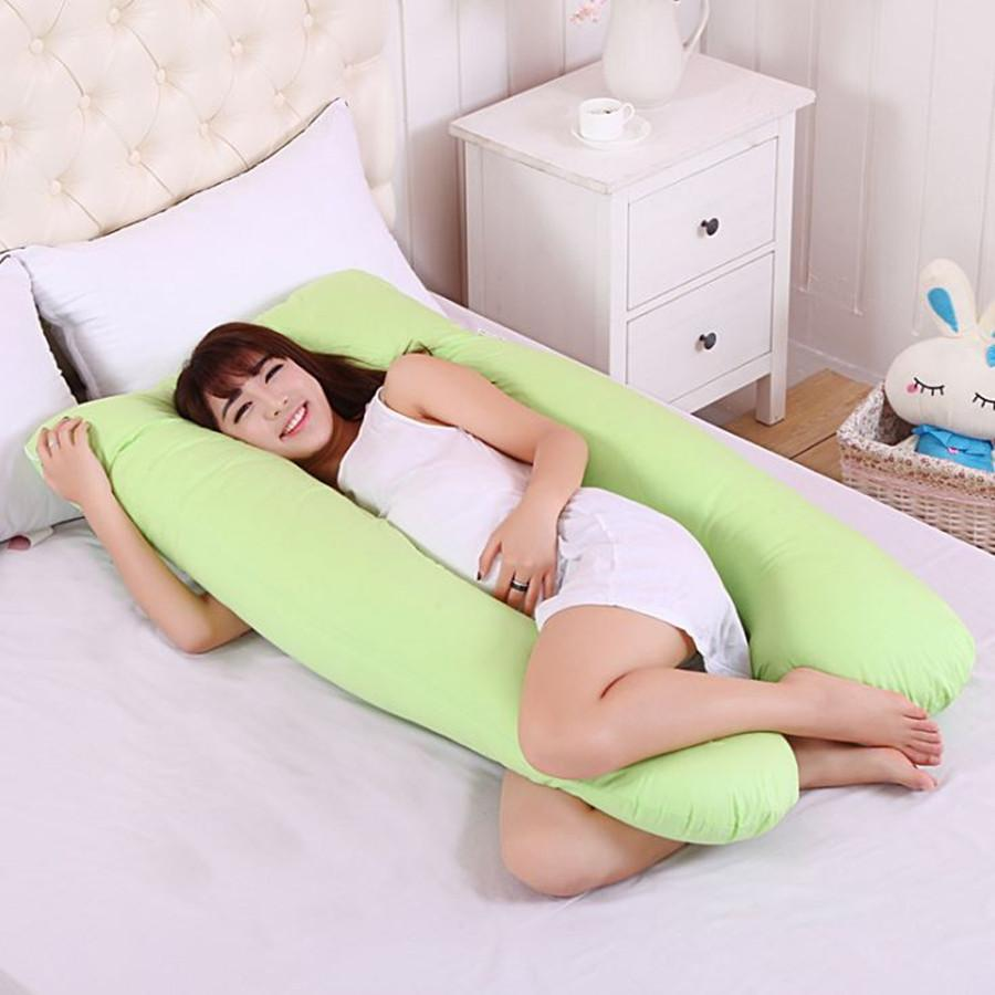 Full Body Pillows Sleeping Pregnancy Pillow Belly Contoured