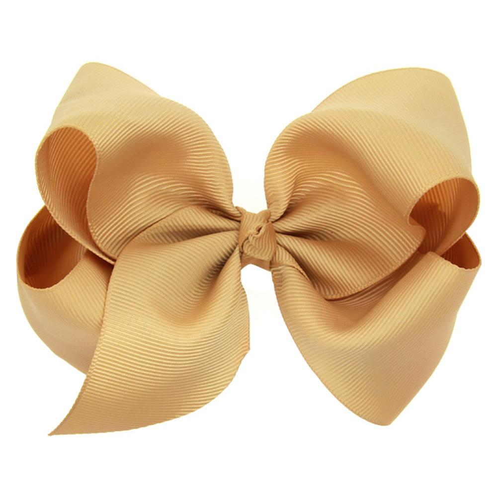 Grosgrain Ribbon Bowknot Hair Clip Baby Girl Hairpins Boutique Hair Band Kids Hair Accessoriesg
