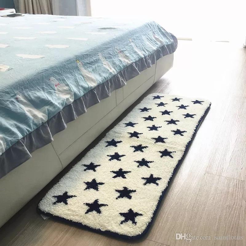 Acheter 45 X 120 Cm De Long Tapis Belle étoile Chambre à Coucher