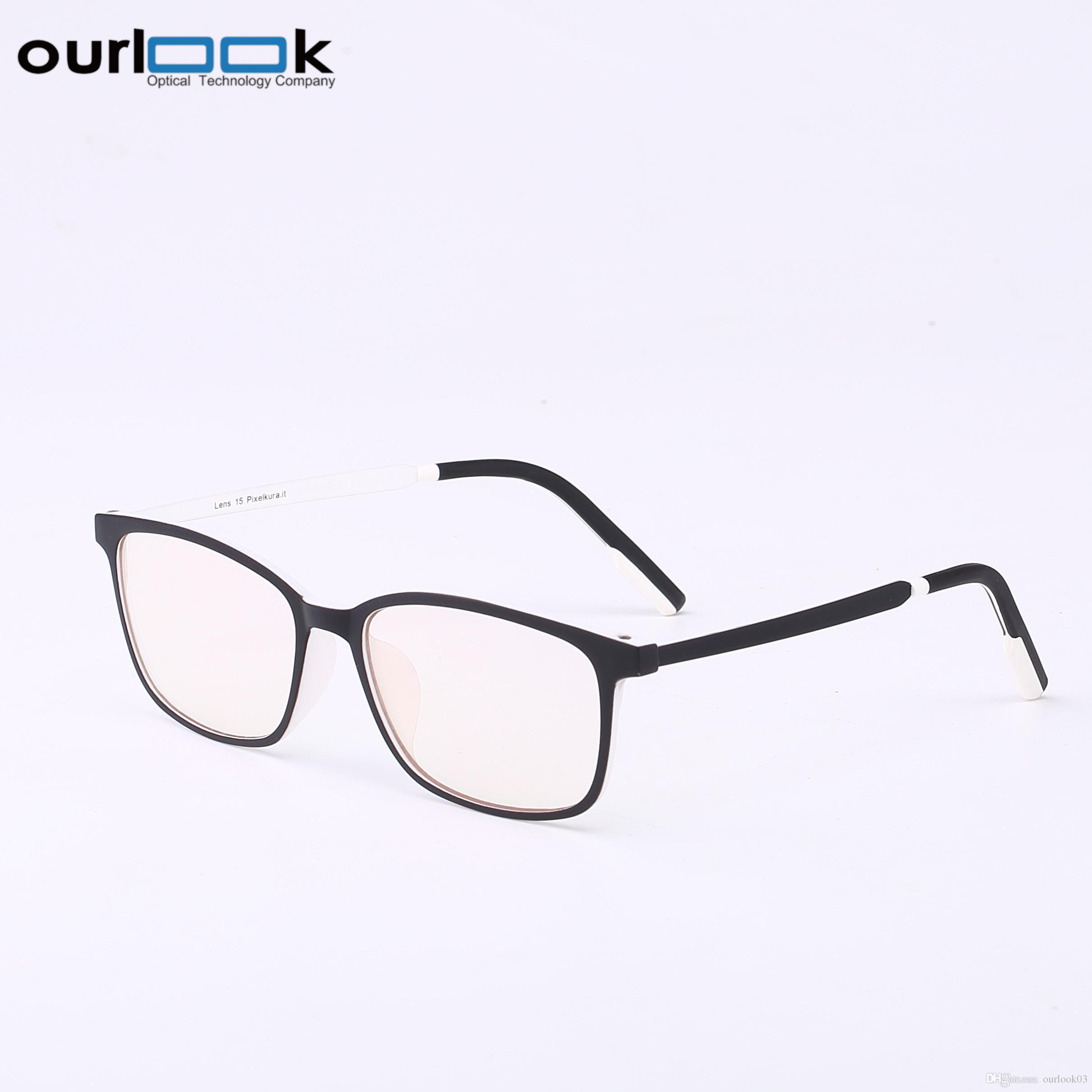Hot Sale Man Women Eyeglasses Tr Ultralight Frame Professional Anti ...