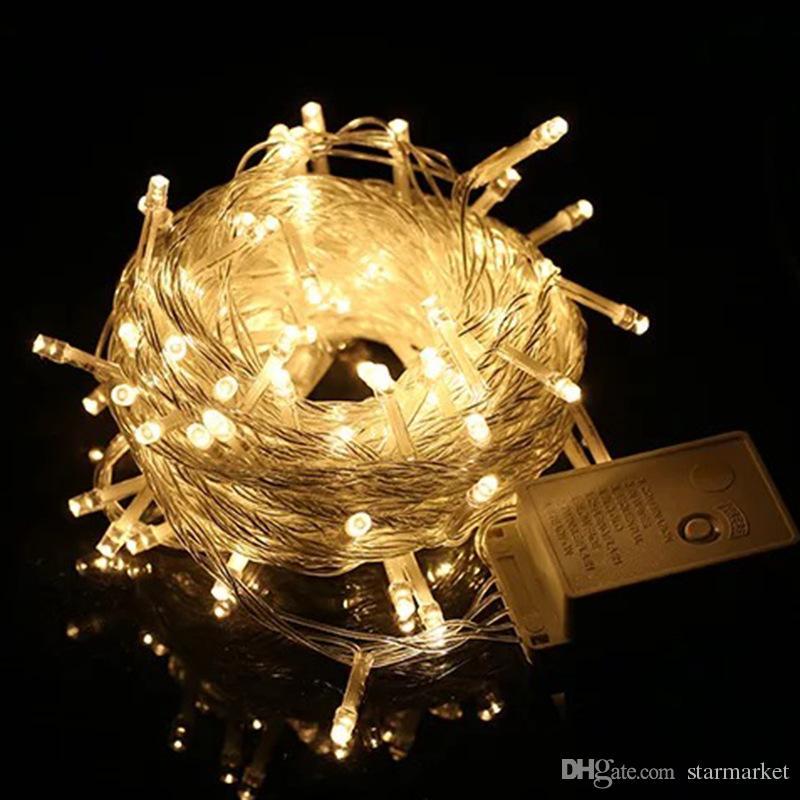 Mini String Lights Delectable 60ft 60M 600 LED Mini String Lights Ball Fairy String Light With EU