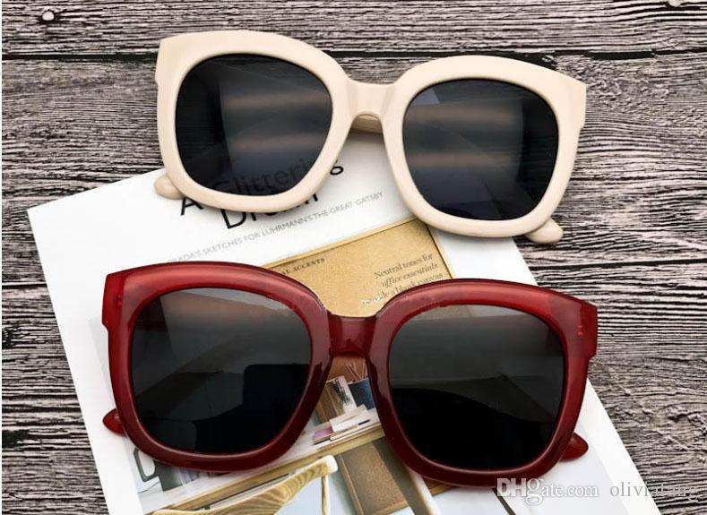 c7fbb7bf1139 2018 Korea POP Stylish Round Sunglasses Full Frame Design Sun Glasses UV  Protection Vintage Eyeglass With Box Men Women Outdoor Eyewear HOT Bolle  Sunglasses ...
