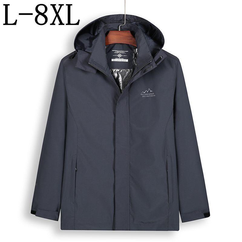 b8b8847391ec Acquista Taglia 8XL 7XL Lungo Trench Coat Uomo Brand Abbigliamento Casual  Cappotto Da Uomo Cappotto Di Alta Qualità Giacca A Vento Maschile A $99.98  Dal ...