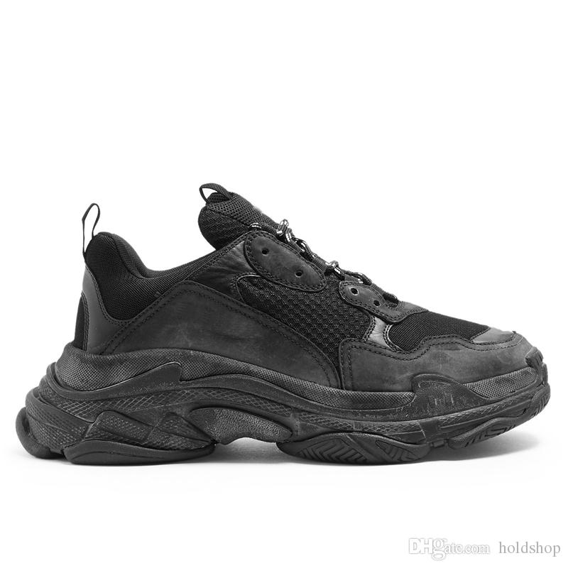 sale retailer 9983f e37c9 La Mayoría De La Moda 2019 Las Mejores Zapatillas De Deporte AAA De La  Calidad Triple S Hombres Mujeres Que Se Ejecutan Las Zapatillas Zapatos De  Lujo Del ...