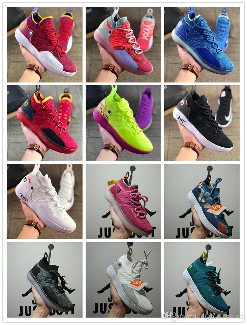 b1d8b12cb336 KD 11 EP Elite Shoes KD 11s Men Multicolor Peach Jam Mens Doernbecher  Trainers Kevin Durant 11 EYBL All Star BHM Sneakers Canada 2019 From  Flightclubstore